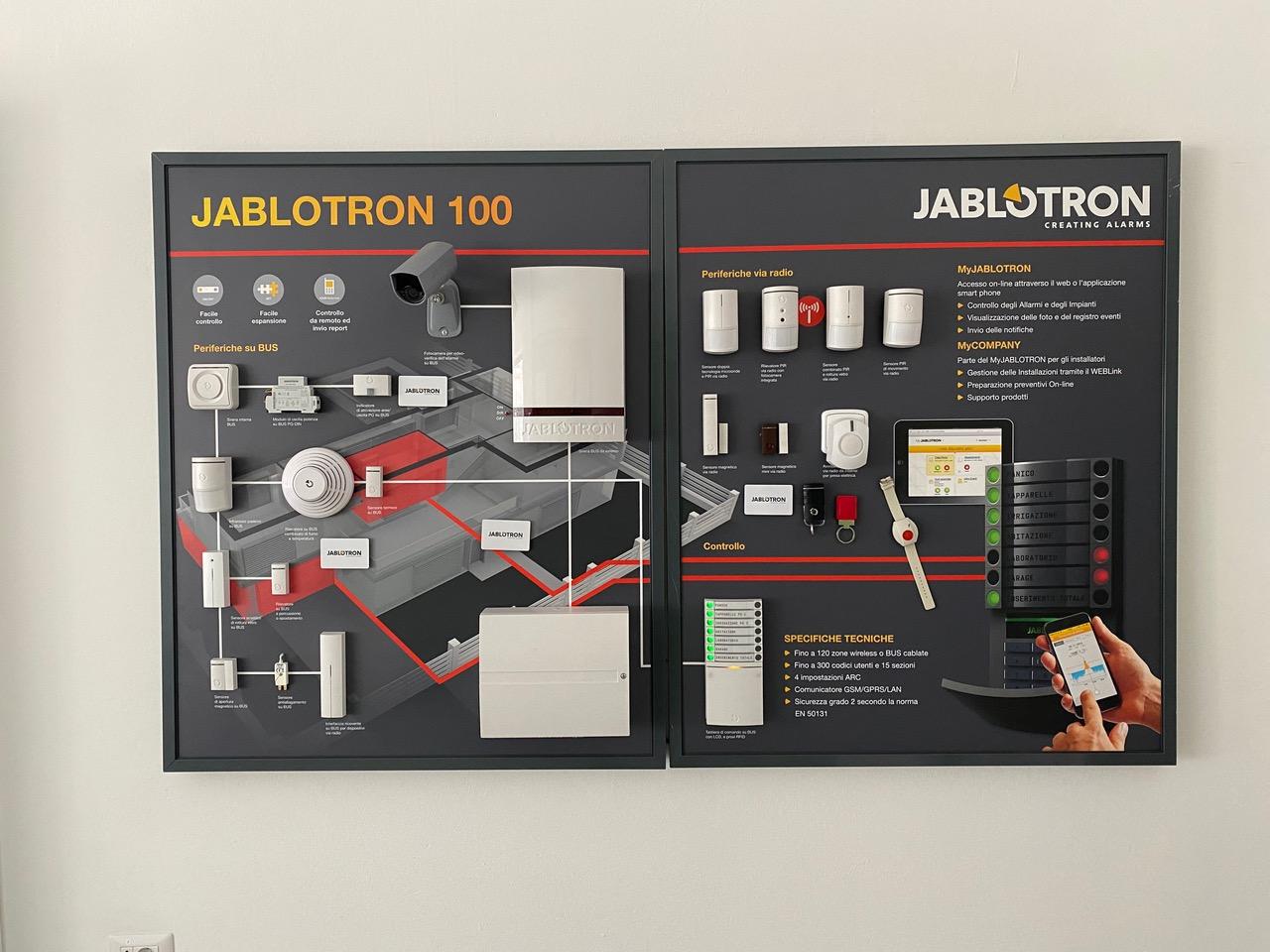 Pannello Jablotron